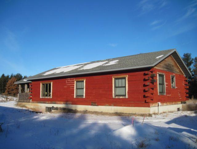 Log Home 5 Acres Northern Adams County